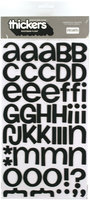 American Crafts F42-42731 Thickers Foam Alphabet Stickers 6