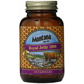Montana Big Sky Royal Jelly Capsules, 30 Count