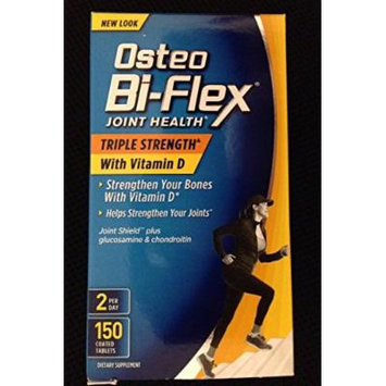 Osteo Bi-Flex Triple Strength Caplets, 150 Count Easy