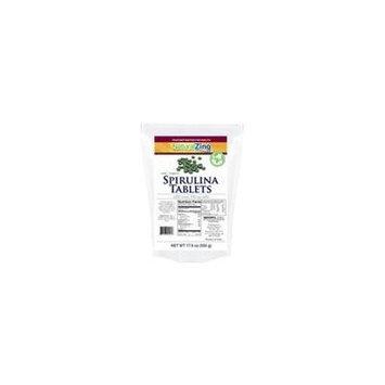 Spirulina (Raw, Organic) 750 tablets, 500 mg
