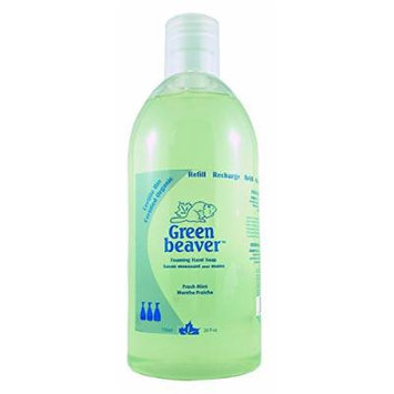 Green Beaver Fresh Mint Foam Hand Soap Refill