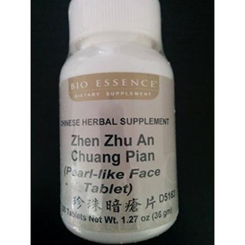 Zhen Zhu An Chuang Pian (Pearl-like Face Tablet)120 Tablets Net Wt 1.27 Oz (36 Gm) Take 5-7 Tablets Each Time, 2-3 Times a Day