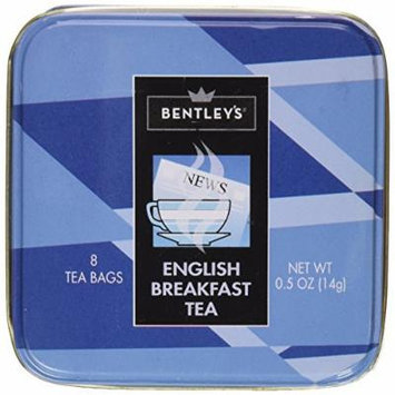 Bentley's English Breakfast Tea, 8 Tea Bags, 2 Pack