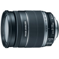 Canon EF-S 18-200mm f/3.5-5.6 IS Telephoto Zoom Lens - Black