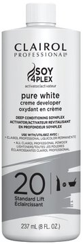 Clairol Professional Soy4plex Pure White Creme Hair Color Developer - 20