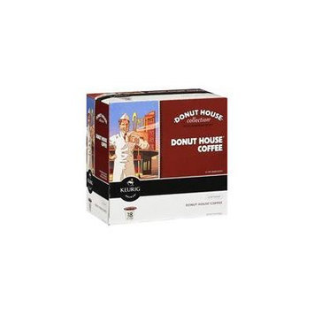 Keurig K-Cups, Donut House Collection Regular Coffee, 18 ct(Case of 2)