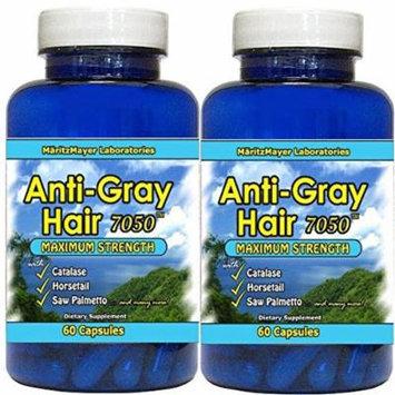 Anti-gray Hair 60 Capsules - Highest Quality! (2 Bottles)