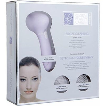 Global Beauty Care Premium Facial Cleansing Power Brush- (Lavander)