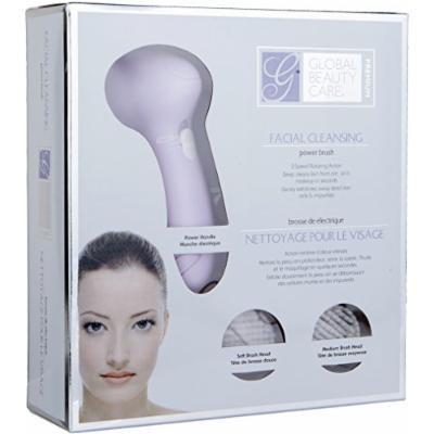 Global Beauty Care Premium Facial Cleansing Power Brush- (Lavander)
