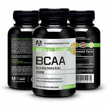 Optimum Nutrition BCAA Amino Acids 1200mg. Highest Quality, Outstanding Value -Guaranteed- Quick Recovery, Ultimate Energy, Stamina, Training, Fat Burning, Modern Supplement, Increases Metabolism At All Ages -Capsules - All Natural - By At Last the Best