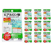 (Set of 10) Hyaluronic Acid 452mg 20 Days Tablets Pills Supplement Health Care Daiso Japan