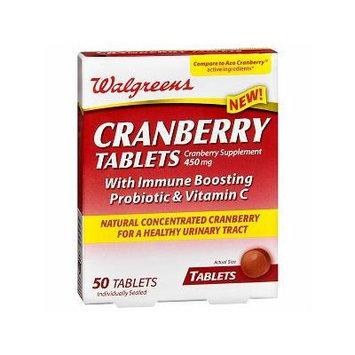 Walgreens Cranberry Tablets 50 ea