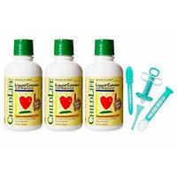 Child Life Liquid Calcium/Magnesium, 16 Fl.Oz. (474 mL) - 3 Pack with Medicine Dispenser Kit