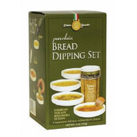 5 Piece Porcelain Bread Dipping Gift Set
