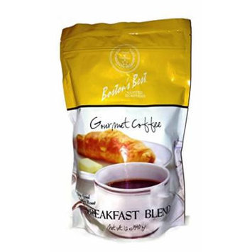 Boston's Best Breakfast Blend Gourmet Coffee 12oz Bag