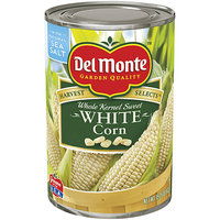 Del Monte : White Sweet Whole Kernel Corn