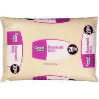 Wal-mart Stores, Inc. Great Value Basmati Rice, 20 lb