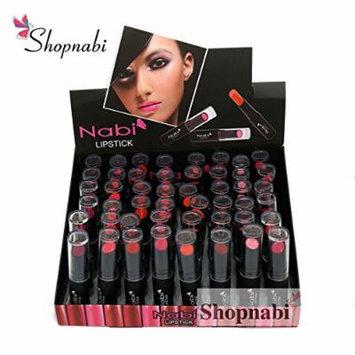 48pcs Nabi Lipsticks Professional Selected Lipstick set of 8 Colors - A Set