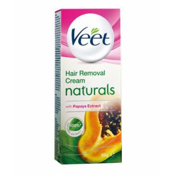 Veet Naturals Hair Removal Cream, Normal To Dry Skin - 60 g