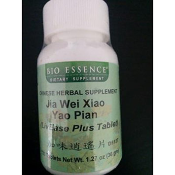 Jia Wei Xiao Yao Pian (Livease Plus Tablet) 120 Tablets Net Wt 1.27 Oz (36 Gm) Take 5-7 Tablets Each Time, 2-3 Times a Day