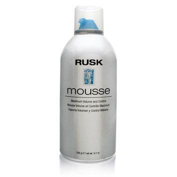 Rusk Mousse Maximum Volume and Control, 8.8 oz