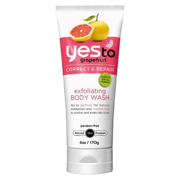 Yes To Grapefruit Exfoliating Body Wash