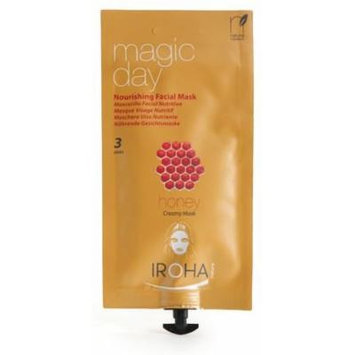 Iroha Facial Creamy Mask Nourishing Honey .88 fl oz (3 Uses)