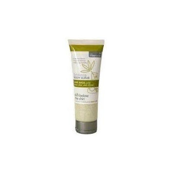 Skin Below the Chin Exfoliating Body Scrub Lime Basil with Anjou Pear and Citron 8 Fl Oz