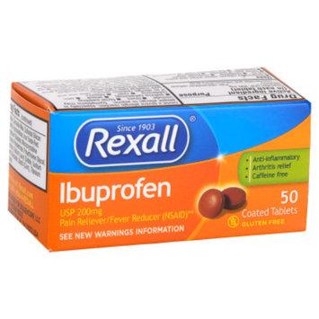 Rexall Ibuprofen Tablets - 50 ct