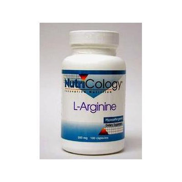 Nutricology - L-Arginine 500 mg 100 caps [Health and Beauty]