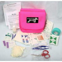 Dog First Aid Kit - Hot Pink Pouch