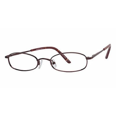 Seventeen 5303 in Burgundy Designer Reading Glass Frames ; Demo Lens