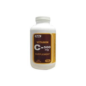 Vitamin C 500 mg 500 mg 1000 Tabs