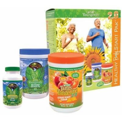 Youngevity Healthy Body Start Pack 2.0 (Beyond Tangy Tangerine 2.0, Osteo FX Powder, Ultimate EFA Plus) (Worldwide Shipping)