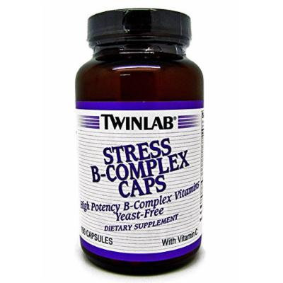 Twinlab Stress B-Complex Caps High Potency Dietary Supplement 100 Capsules