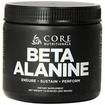 Core Nutritionals Beta Alanine Dietary Supplement, 200 Gram