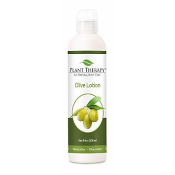 Olive Hand & Body Aromatherapy Lotion, All Natural Unscented Base 8 oz
