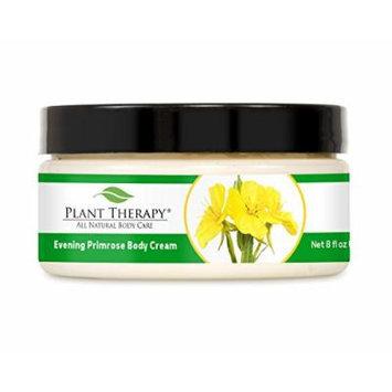 Evening Primrose Aromatherapy Body Cream, All Natural Unscented Base 8 oz