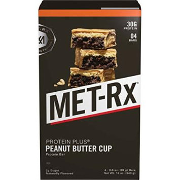 MET-Rx Protein Plus Peanut Butter Cup, 4 count Value Pack