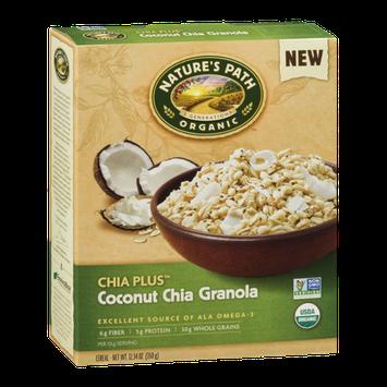 Nature's Path Organic Chia Plus Coconut Chia Granola Cereal