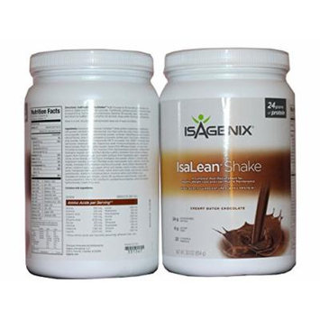 Isagenix Isalean Creamy Dutch Chocolate Shake, 30.1 Oz (2)