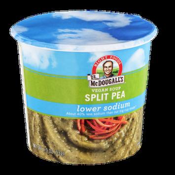Dr. McDougalls Vegan Soup Lower Sodium Split Pea