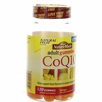 Nature Made Adult Gummies 120 CT CoQ10 Dietary Supplement, Mango