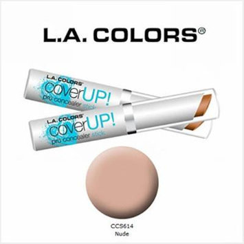 3 Pack L.A. Colors Cosmetics Cover Up! Pro Concealer Stick 614 Nude