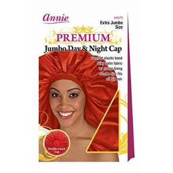 Annie Deluxe Extra Jumbo Day and Night Cap #4573 Red