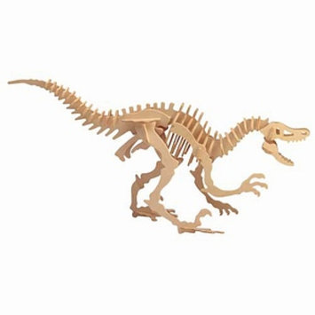 Puzzled Velociraptor Wooden Puzzle Ages 5 and up