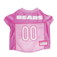 Pets First Chicago Bears Pink Jersey