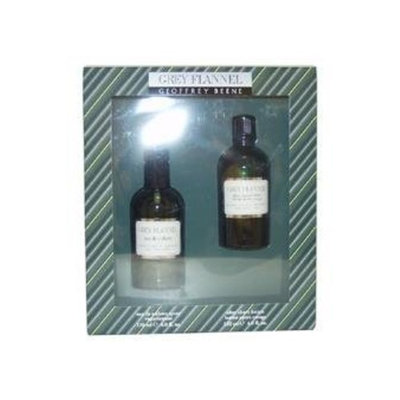 Grey Flannel by Geoffrey Beene for Men- 2 pc Gift Set 4oz EDT Spray  4oz After Shave Lotion