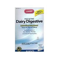 Leader Dairy Digestive Supplement Caplets 60 ct (pack of 3)
