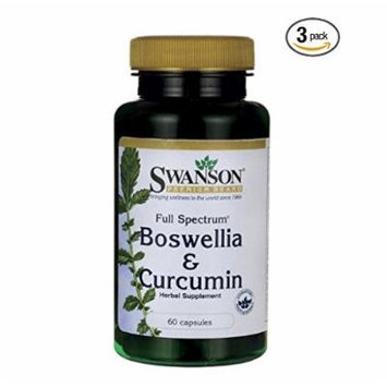 Swanson Full Spectrum Boswellia and Curcumin 60 Caps (3)